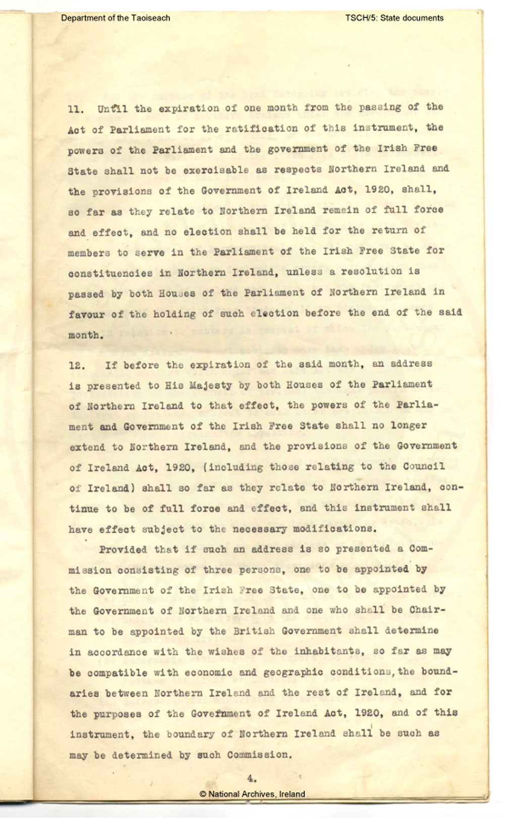 essay on anglo irish treaty Were in office until the signing of the anglo-irish agreement the essay ends in  1938 due to the resolution of outstanding claims arising from the treaty.