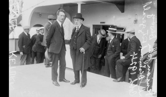 Desmond Fitzgerald & John Devoy 1922