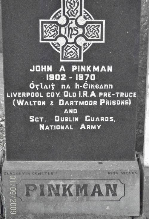 John_A_Pinkman-Headstone