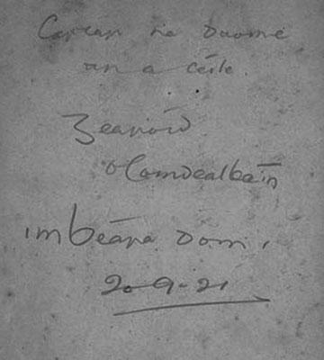 Gearóid-O'Caindealbaín
